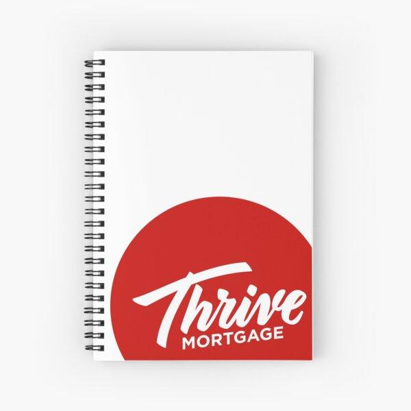 Thrive Red Dot Spiral Notebook