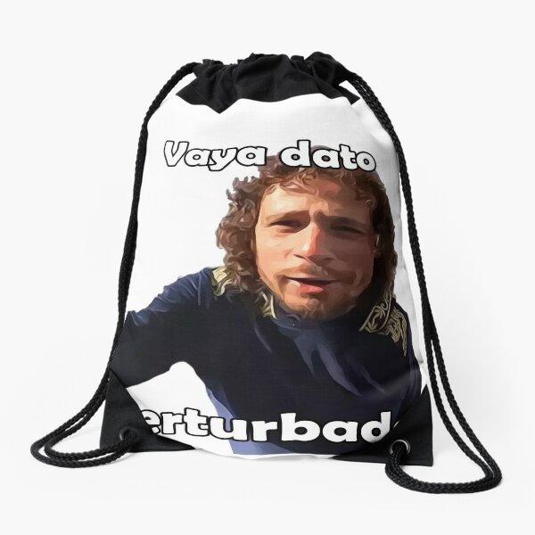 Luisito Art Drawstring Bag