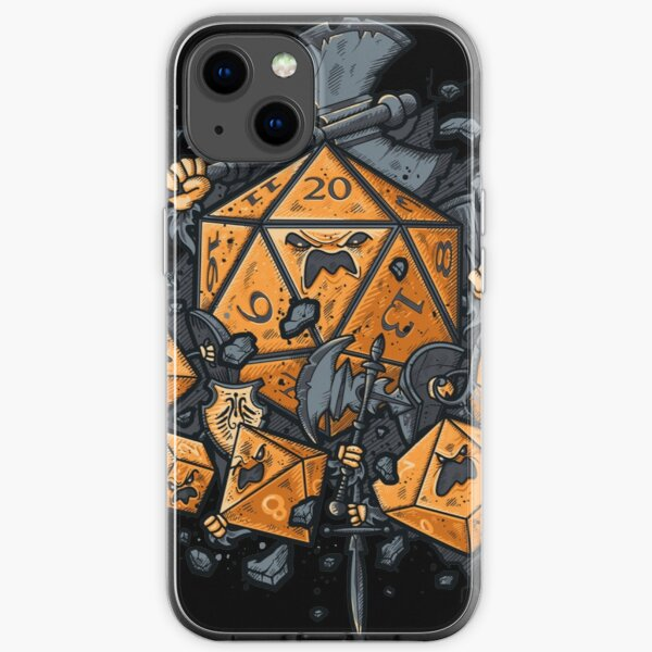 Dungeons And Dragons iPhone Soft Case