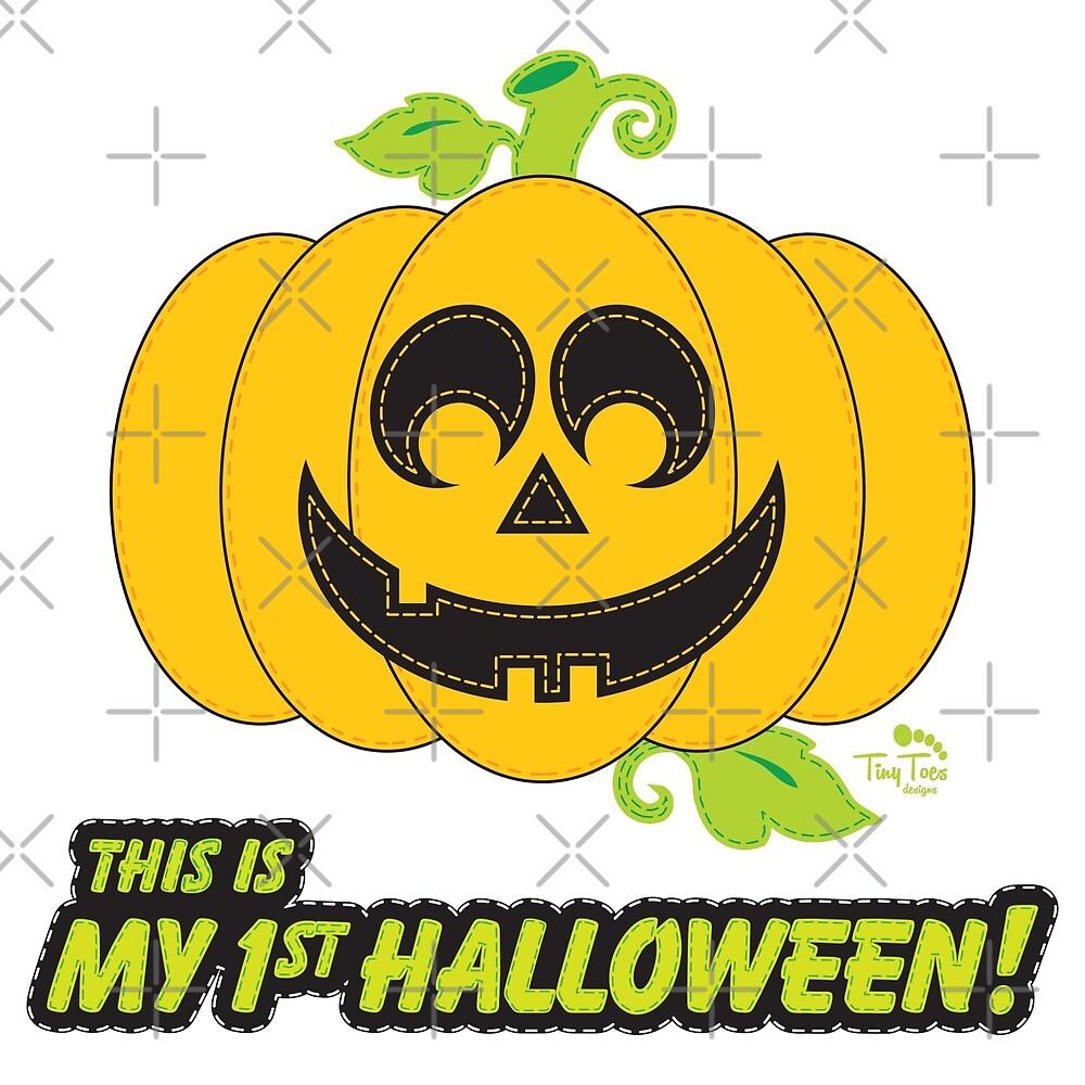 My 1st Halloween Jack O' Lantern by BadCatDesigns