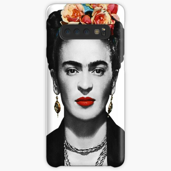 Frida Kahlo Portrait Black And White Samsung Galaxy Snap Case