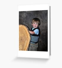 xander Greeting Card