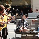 Busking in Melbourne City by brendanscully