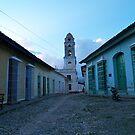 Cuba Trinidad by Sally P  Moore