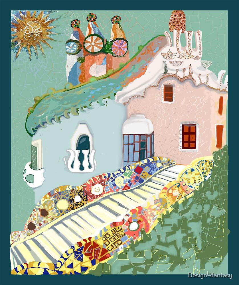 To Antoni Gaudi by Design4fantasy