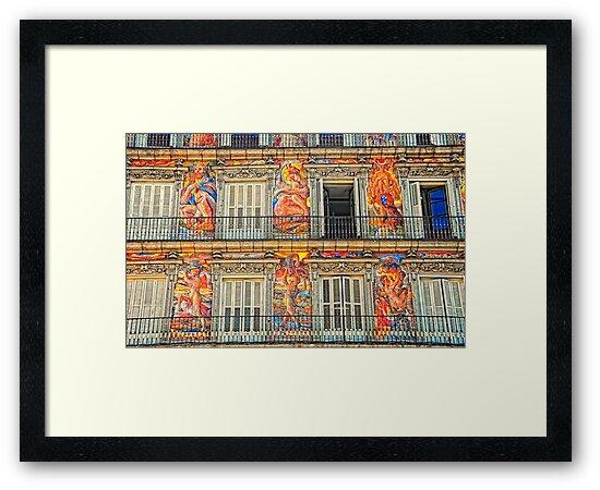 Plaza Major, Madrid by Nigel Fletcher-Jones
