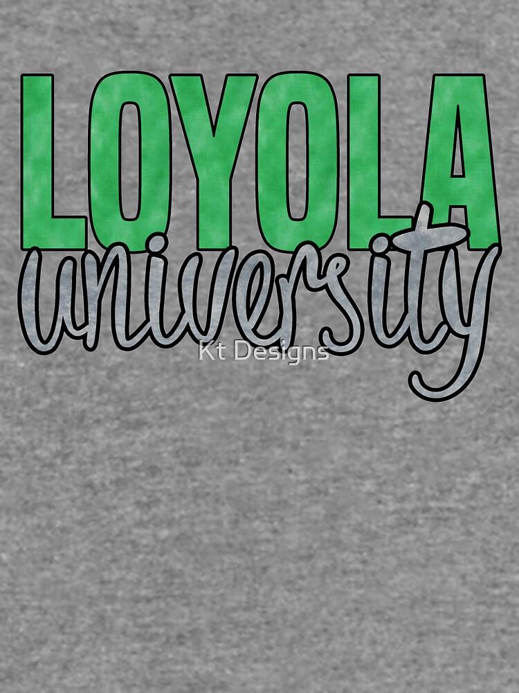 Loyola University Maryland by katiefarello