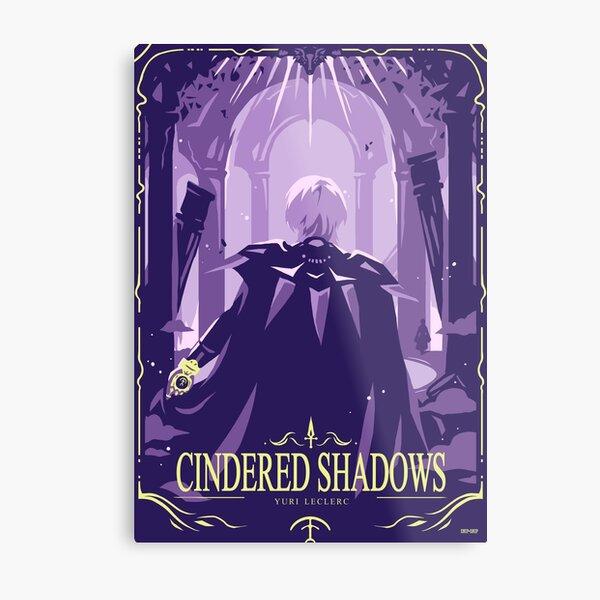 Cindered Shadows Metal Print
