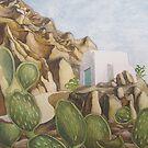 Mountain Church in Patmos by Nick Randles