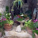 The Tiny Arched Garden Of Sainte Agnes  by Fara