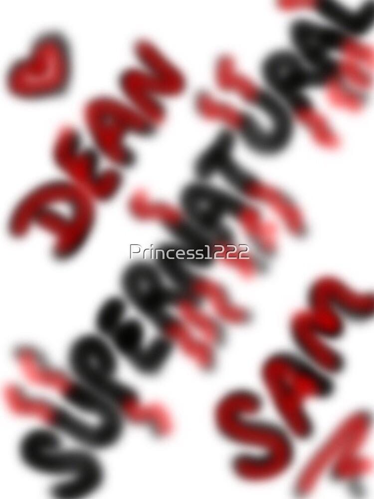 SUPERNATURAL SAM AND DEAN by Princess1222