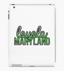 Loyola University Maryland Script iPad Case/Skin