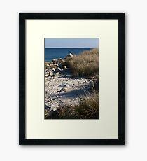 Crystal Crescent Beach, Nova Scotia, Canada Framed Print