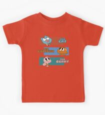 The Cat, The Goldfish and the Bunny Kids Tee