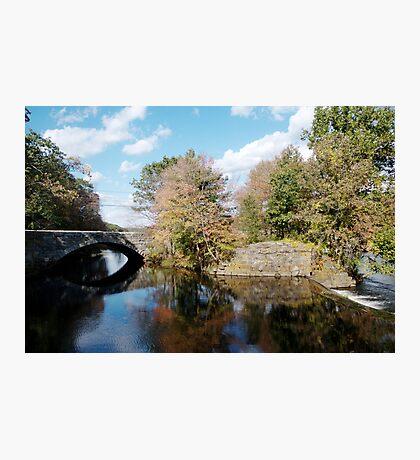 Stone Bridge in Autumn Photographic Print