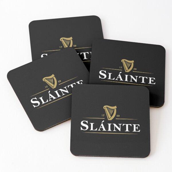 Ireland Slainte Drink Coasters (Set of 4)