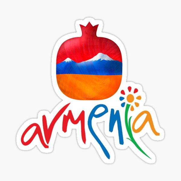 Armenia Հայաստան Sticker
