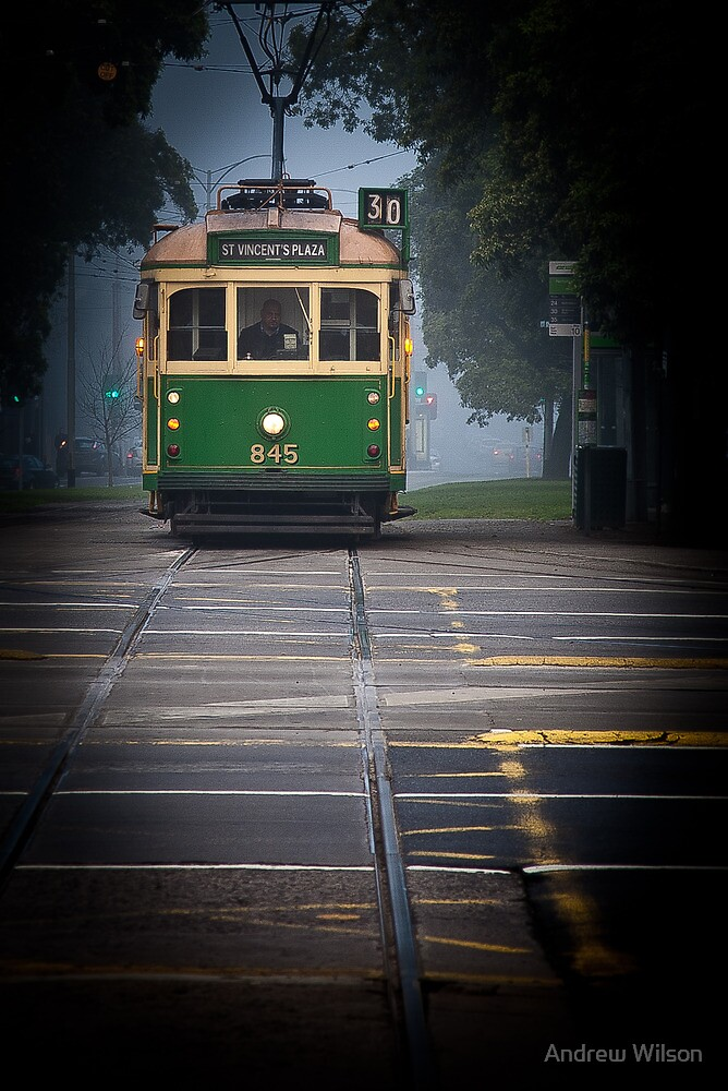 No 30 Tram by Andrew Wilson