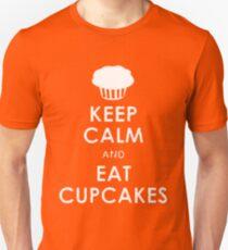 Keep Calm eat Cupcakes Unisex T-Shirt