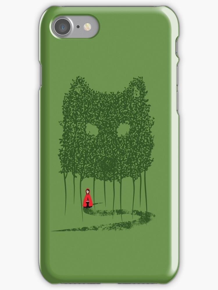 Red & The Wolf by Corinna Djaferis