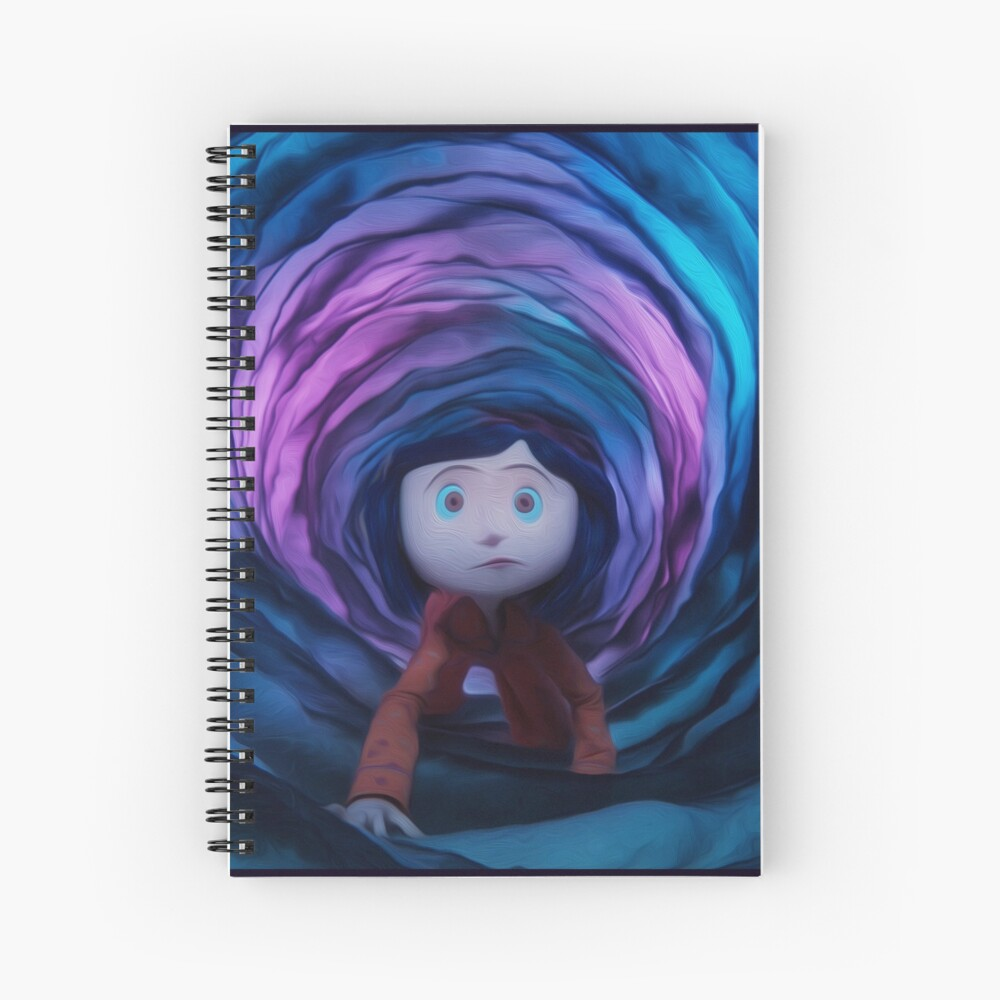 Coraline Tunnel Hardcover Journal By Wbfm Redbubble