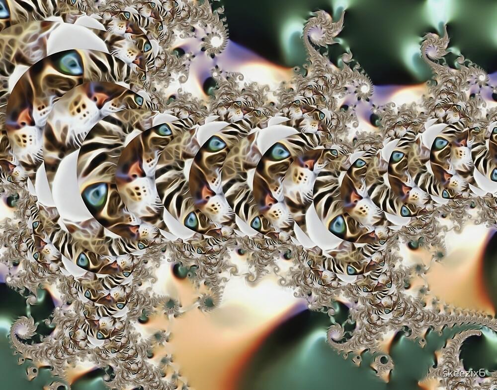 Caterpillar Cat by skeezix6