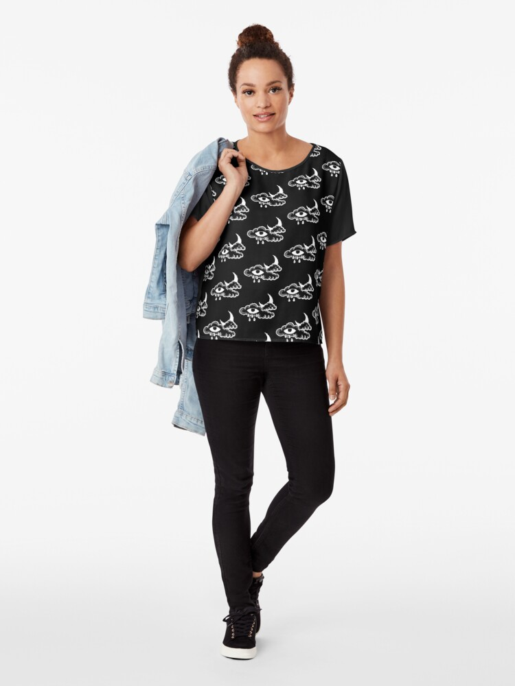 Alternate view of Queer Eye In The Sky Chiffon Top