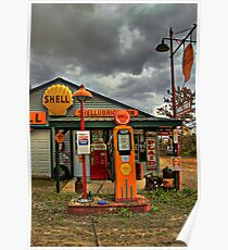 Americana at It's Best- SHELL Gasoline Poster