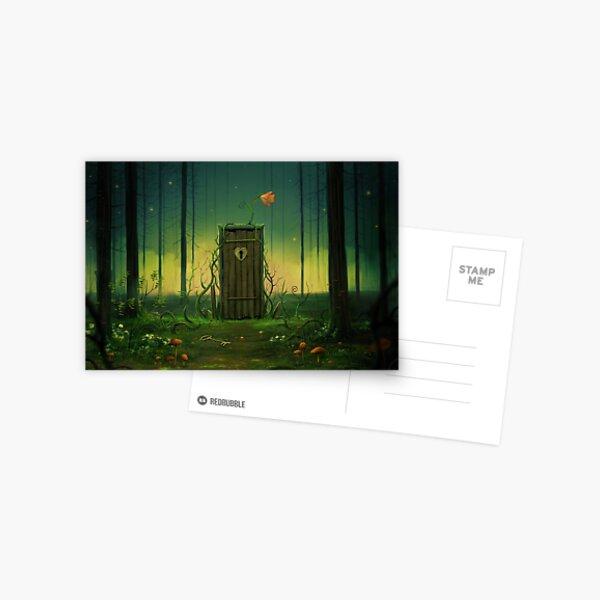The Forest Door Postcard