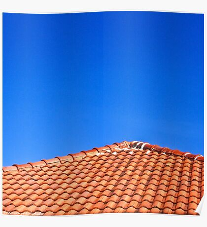 The Roof and The Sky Poster