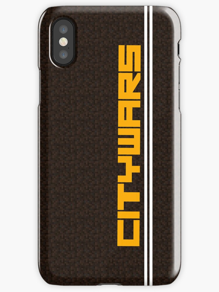 Citywars.ca Iphone Case (Dirt Background) by Kndbro