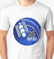 NASA Hubble 25th Anniversary Patch T-Shirt