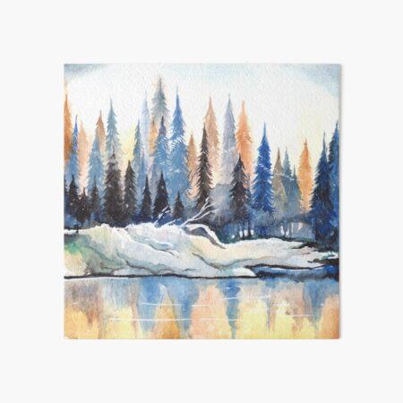 Winter Forest  Art Board Print