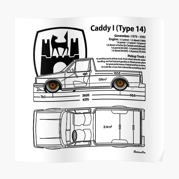 one CADDY Poster