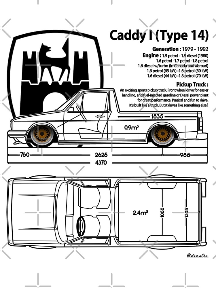 one CADDY by oldiescie