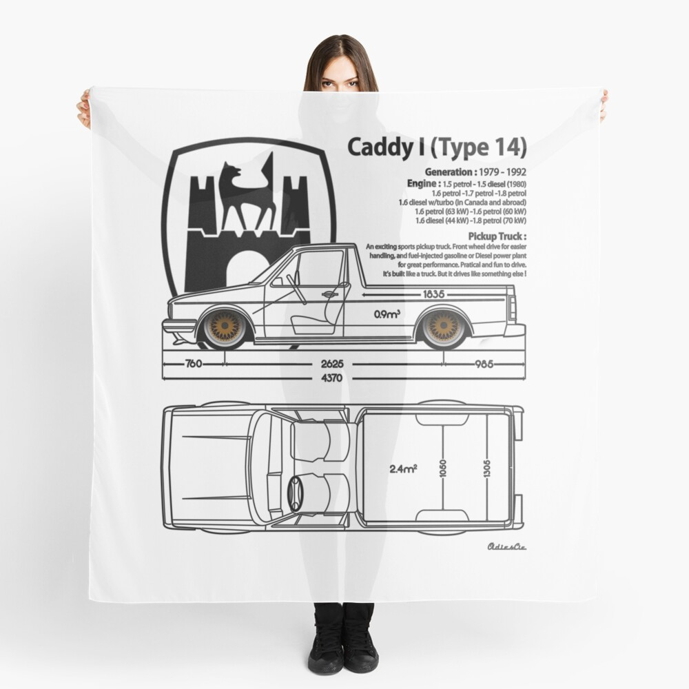one CADDY Scarf