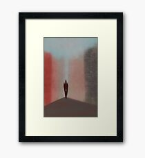 Quo vadis? Framed Print