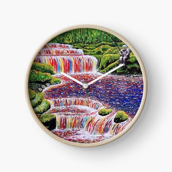 Fishing Trip Clock