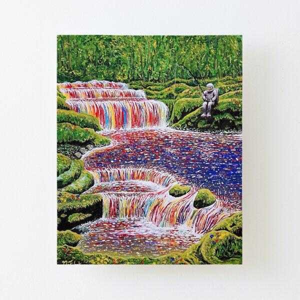 Fishing Trip Canvas Mounted Print