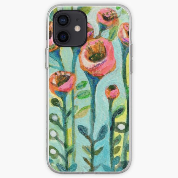 Tulips in the Garden iPhone Soft Case