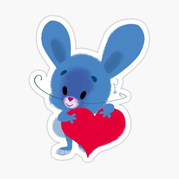Cute Rabbit Zekollini  Sticker