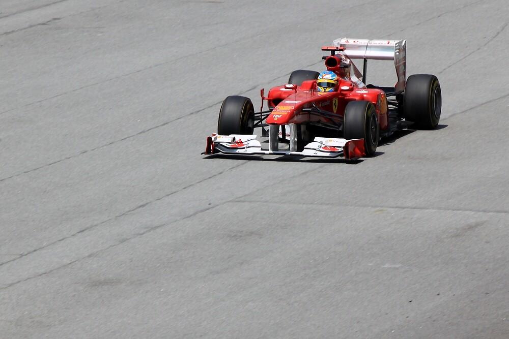 Ferarri and Fernando Alonso by 3rdeyelens
