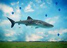 Swimming High In The Deep Sky... by Carol Knudsen