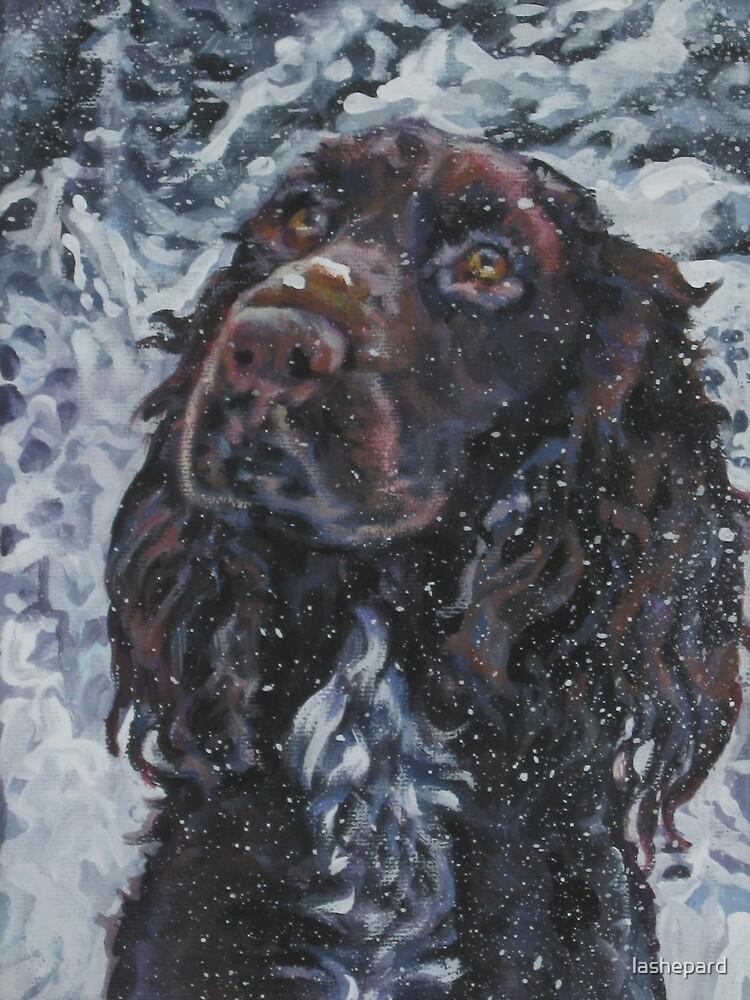 Field Spaniel Fine Art Painting by lashepard