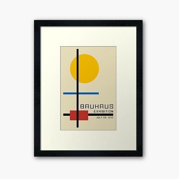 Bauhaus Exhibition Poster Collection 1923 - Avantgarde Arts No 3 Framed Art Print