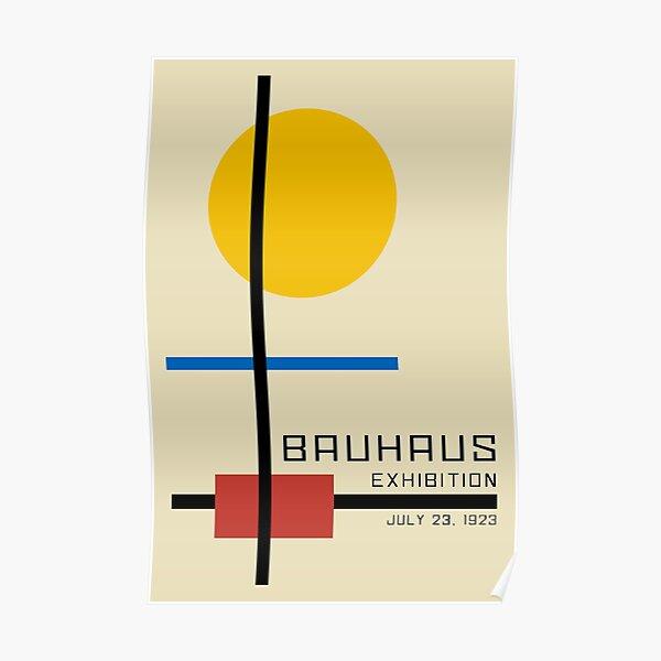 Bauhaus Exhibition Poster Collection 1923 - Avantgarde Arts No 3 Poster