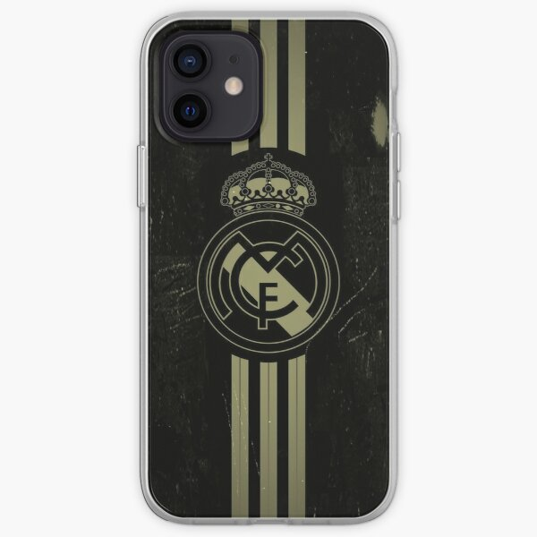 Real Madrid Funda blanda para iPhone