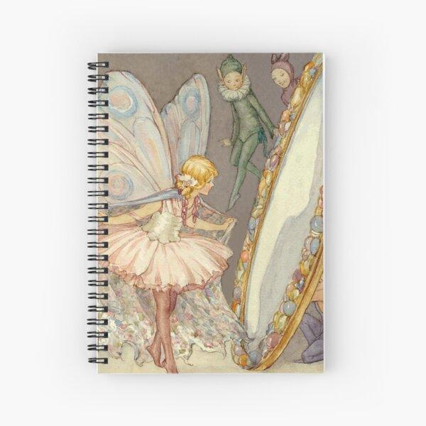 """""""Fairy Mirror"""" von Margaret Tarrant Spiralblock"""