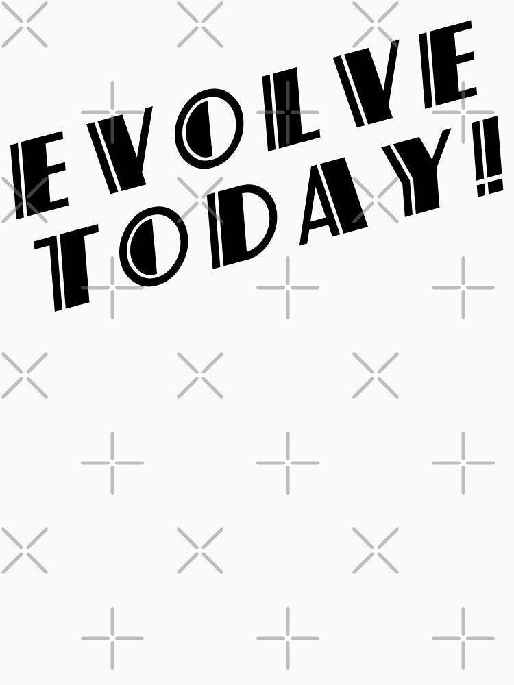 BioShock: ¡evoluciona hoy! (Negro) de PonchTheOwl