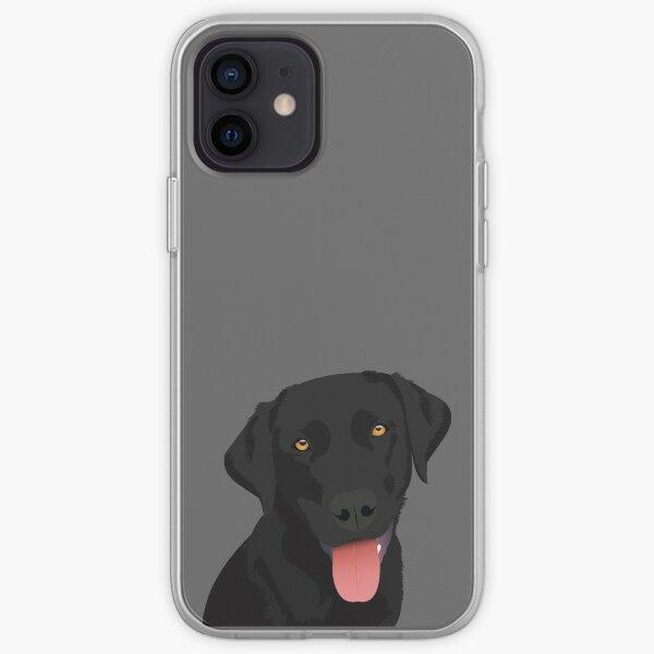Bruno the Black Lab iPhone Soft Case